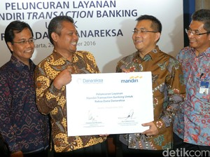 Bank Mandiri Gandeng Danareksa