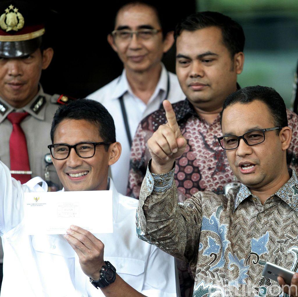 Sandiaga: Tidak Ada Kunjungan Mensesneg ke Prabowo, Saya 3x24 Jam di Sana