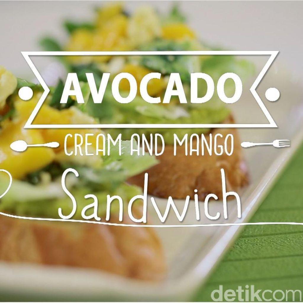 Masak Apa: Avocado Cream and Mango Sandwich