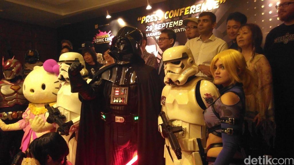 Hiroshi Fujioka, Sang Kamen Raider Pertama Hadir di Indonesia Comic Con