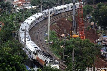 Pembangunan Double Track Manggarai-Cikarang