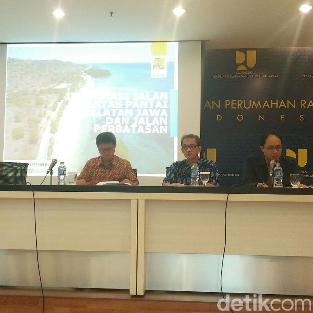 Ini Program Jokowi Sambungkan Ruas Jalan di Pantai Selatan Jawa