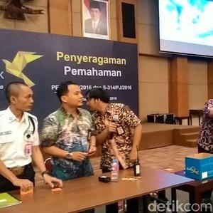 Pengantre Tax Amnesty di Kantor Pajak Pusat Diberi Makan Siang Gratis