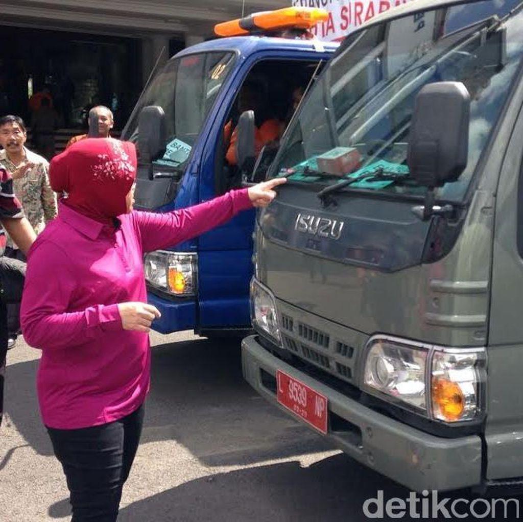 Wali Kota Risma Kembali Kirim Bantuan Bencana di Garut, Sumedang dan Sampang