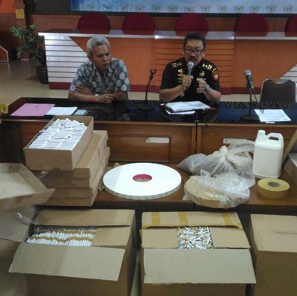 Bea Cukai Bongkar Produksi Rokok Ilegal di Klaten