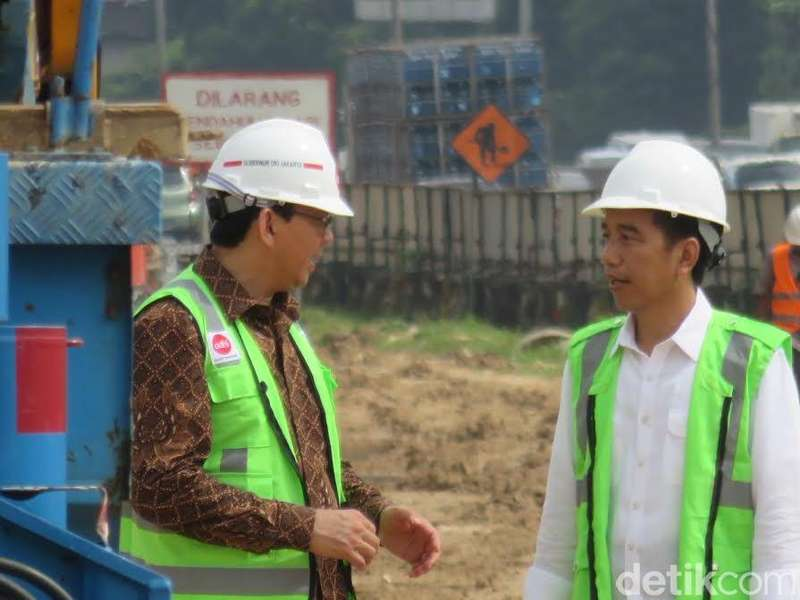 Tak Urus Tim Pemenangan, Ahok: Jokowi Perintahkan Saya Kerja Saja