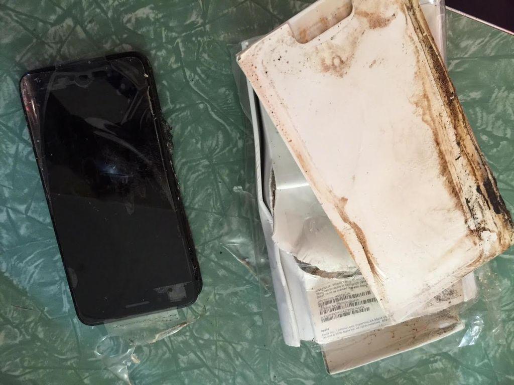 Jejak Hangus iPhone 7