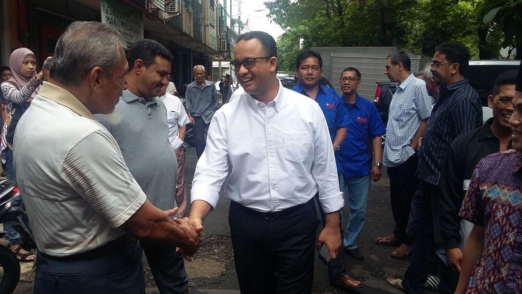 Anies Baswedan Janji Bangkitkan Nilai Sejarah Kota Jakarta