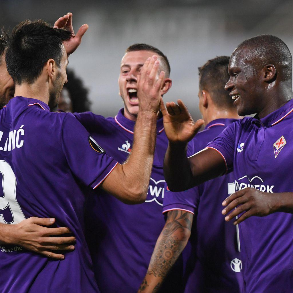 Fiorentina Gilas 10 Pemain Qarabag 5-1