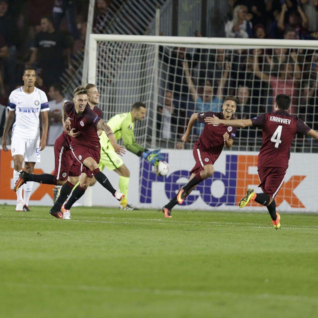 Inter Telan Kekalahan di Kandang Sparta Praha