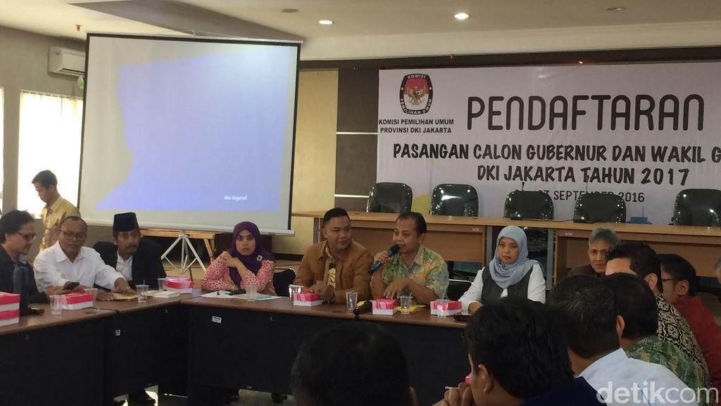 Akun Medsos Kampanye Cagub-Cawagub DKI Wajib Didaftarkan ke KPUD