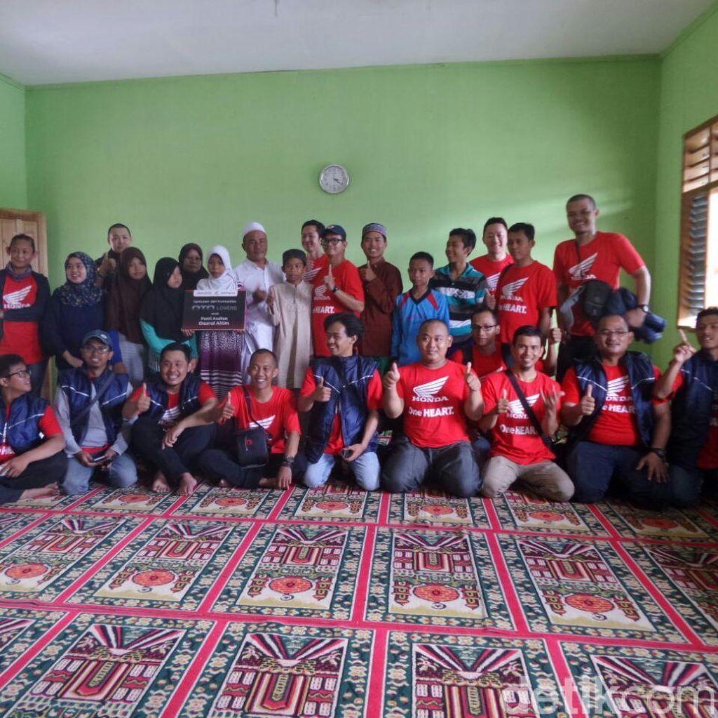 Touring Sambil Berbagi dengan Yayasan Daarul Aitim