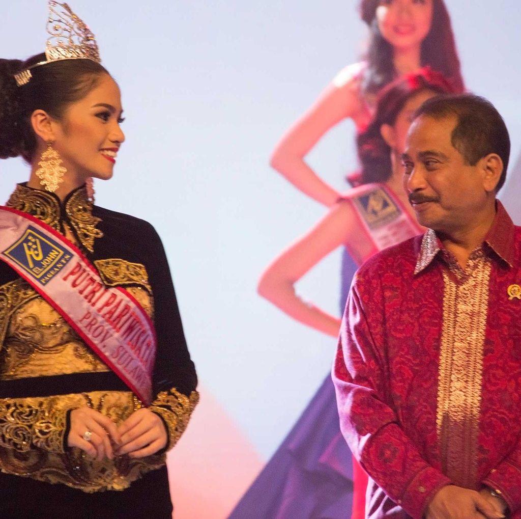 Ketika Menpar Terpesona Paras Cantik Putri Pariwisata Indonesia 2016