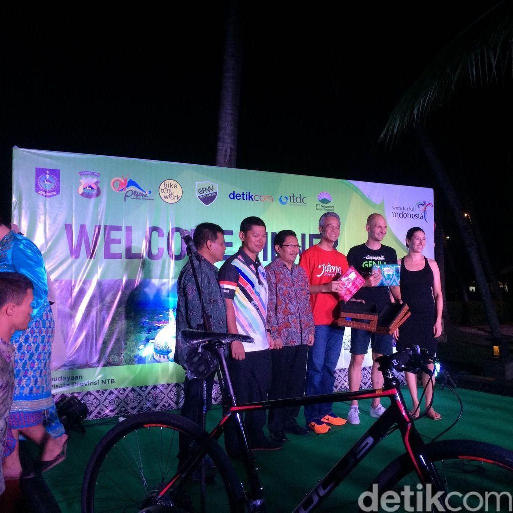 Jamuan Gala Dinner untuk Pebalap GFNY Indonesia
