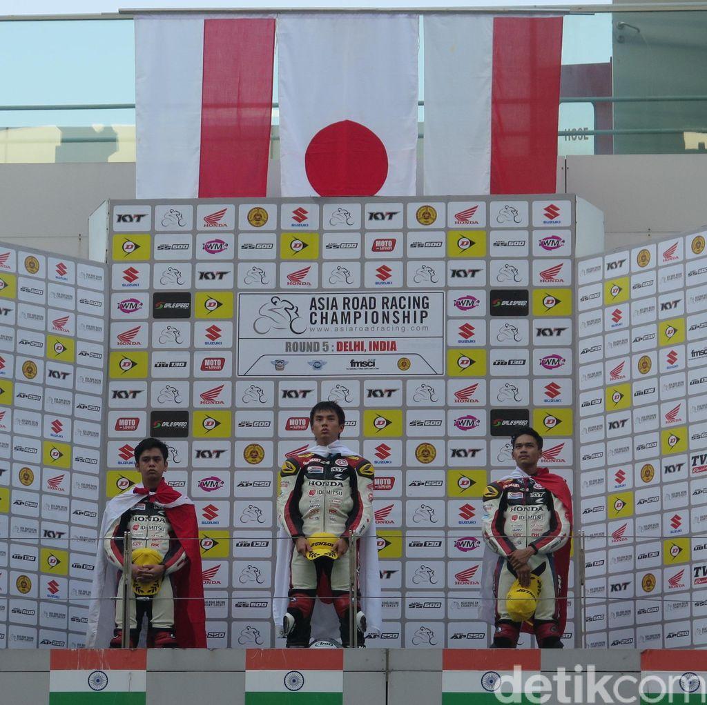 Yaasiin dan Ferry Naik Podium di India