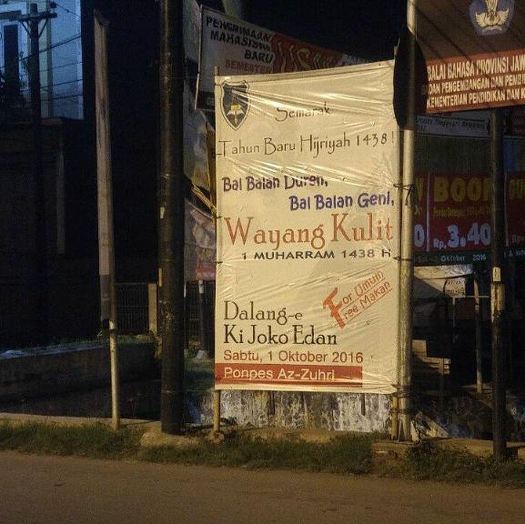 Ditangkap Polisi, Dalang Ki Joko Edan Batal Tampil di Tahun Baru Hijriyah