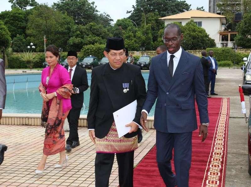 Dubes RI Serahkan Surat Kepercayaan kepada Presiden Republik Guinea