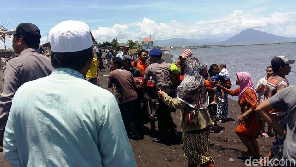 Terkatung-katung di Laut 5 Jam, 11 ABK Nelayan Situbondo Selamat