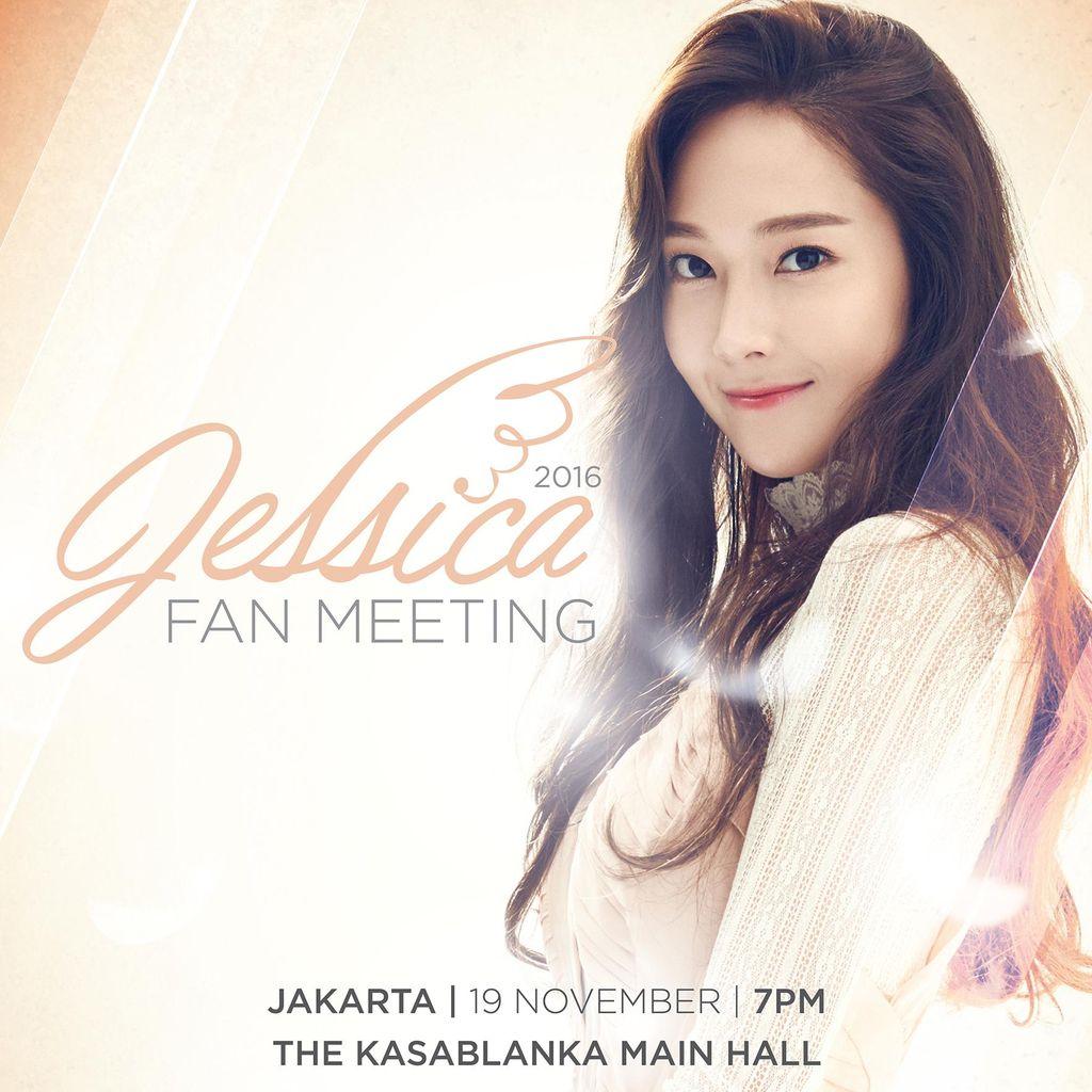 Tiket Fanmeet Jessica Jung Dijual Mulai Rp 1 Juta