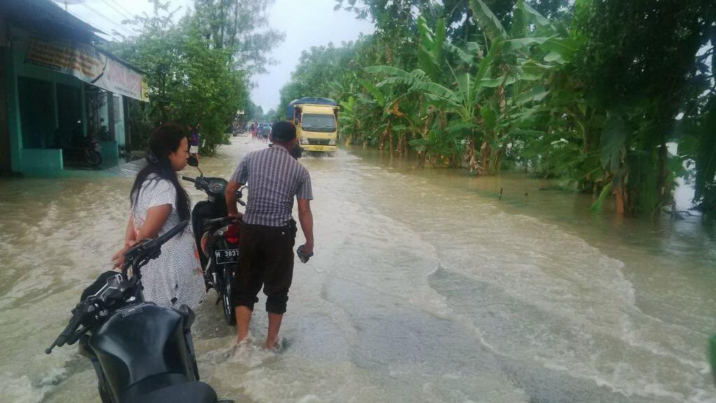 Grobogan Diterjang Banjir, Akses ke Salatiga Terputus