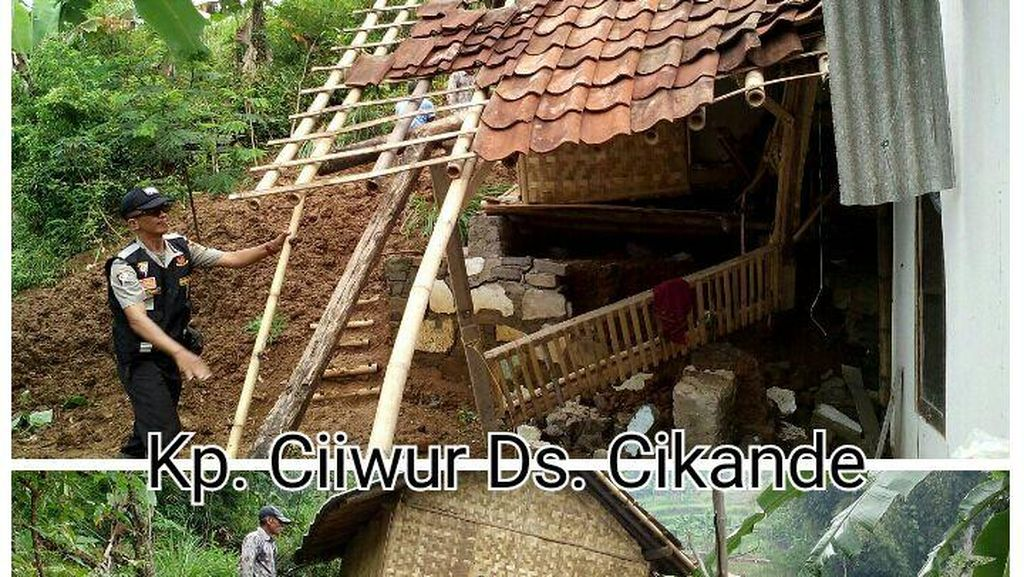 Longsor Melanda Tiga Desa di Bandung Barat, 12 Rumah Rusak dan 2 Orang Luka
