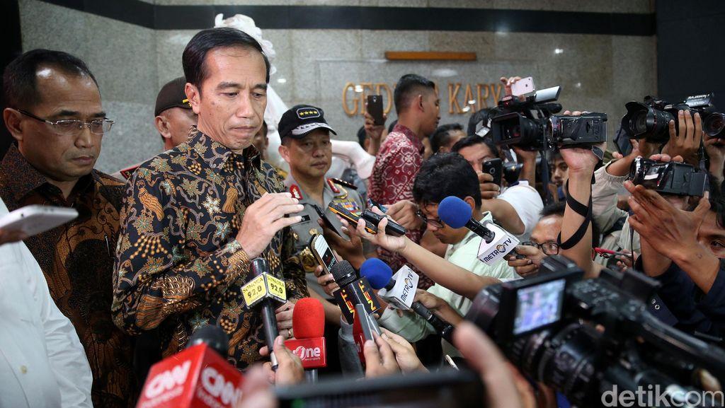 Jokowi Teken Perpres Satgas Saber Pungli, BIN Hingga PM Dilibatkan