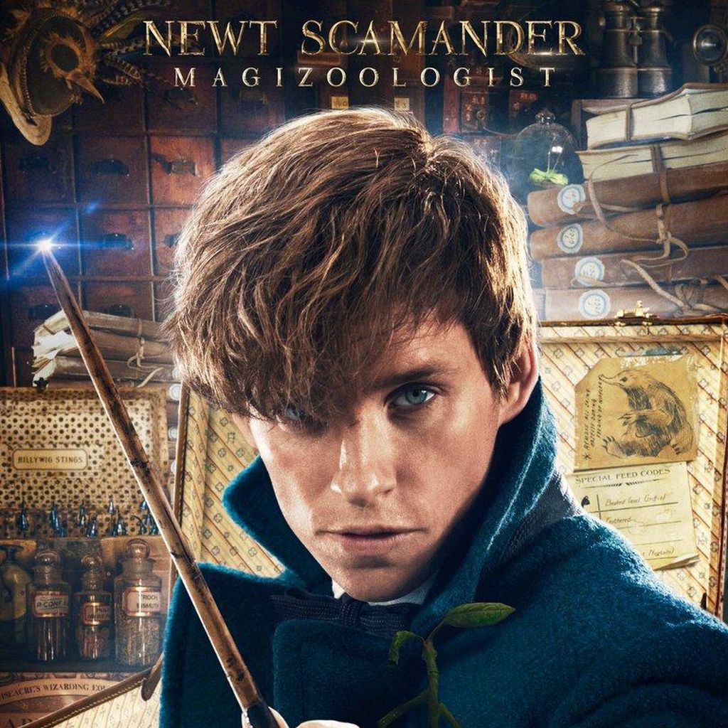 J.K. Rowling Konfirmasi 5 Film Fantastic Beast and Where to Find Them