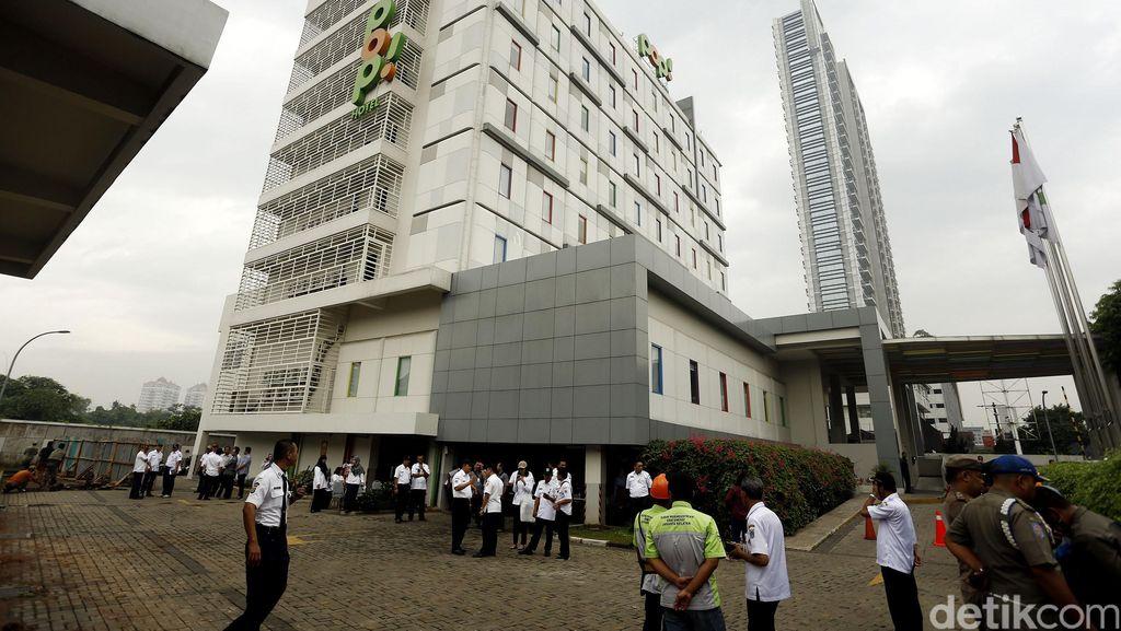 Antisipasi Banjir Kemang, Pop! Hotel Bangun Tembok Pembatas Baru