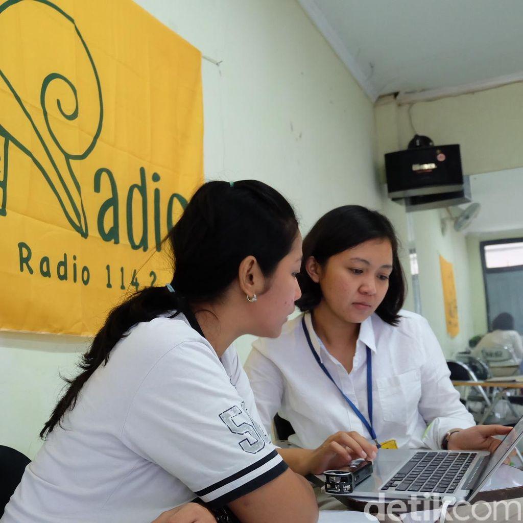 Keong Radio, Ekspresi Warga Rutan Jadi Pemain Drama Radio