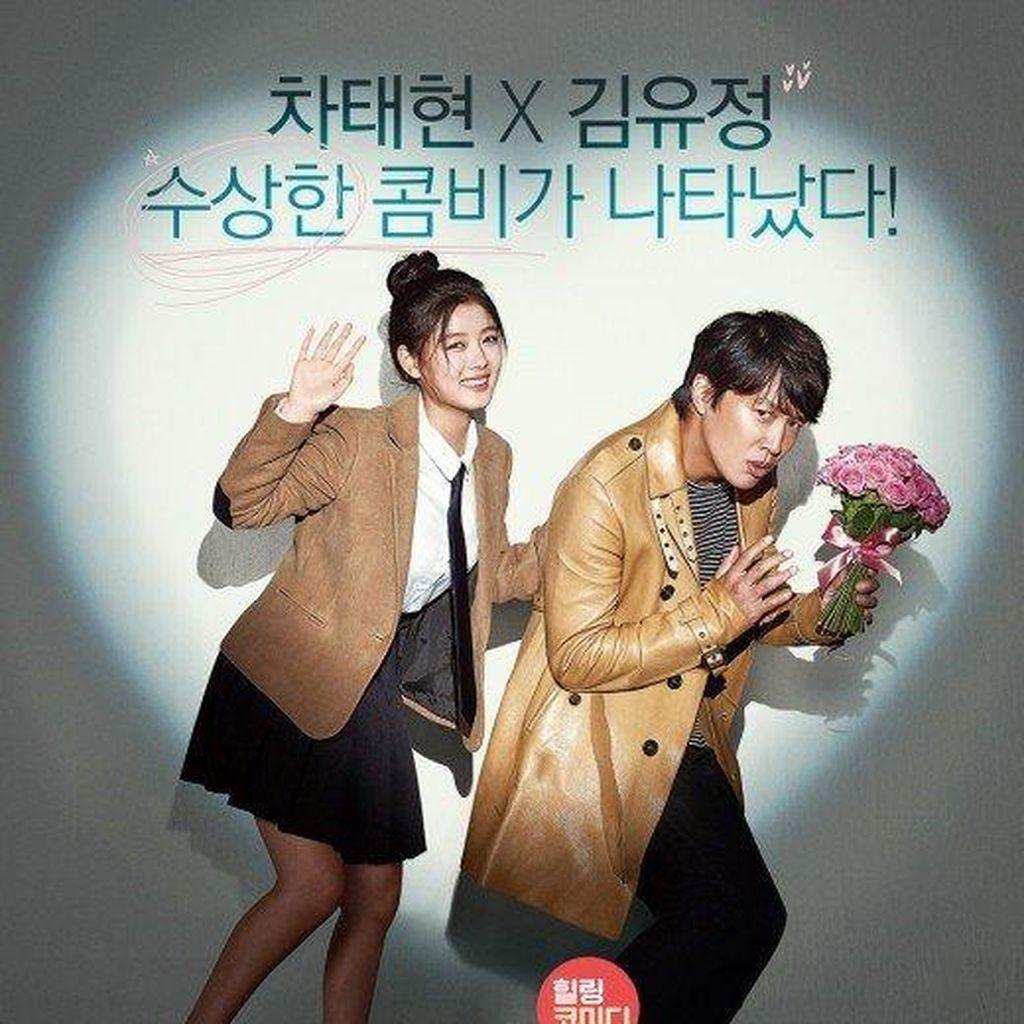 Kim Yoo-Jung Adu Akting dengan Cha Tae Hyun di Film Because I Love You