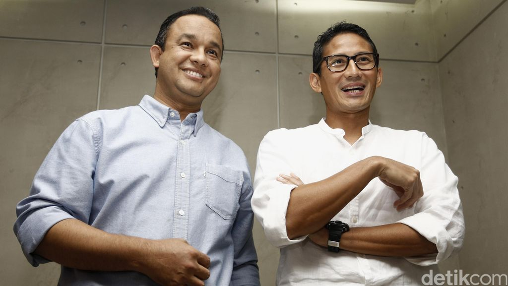 Timses Anies-Sandiaga Galang Gerakan Koin untuk Kampanye