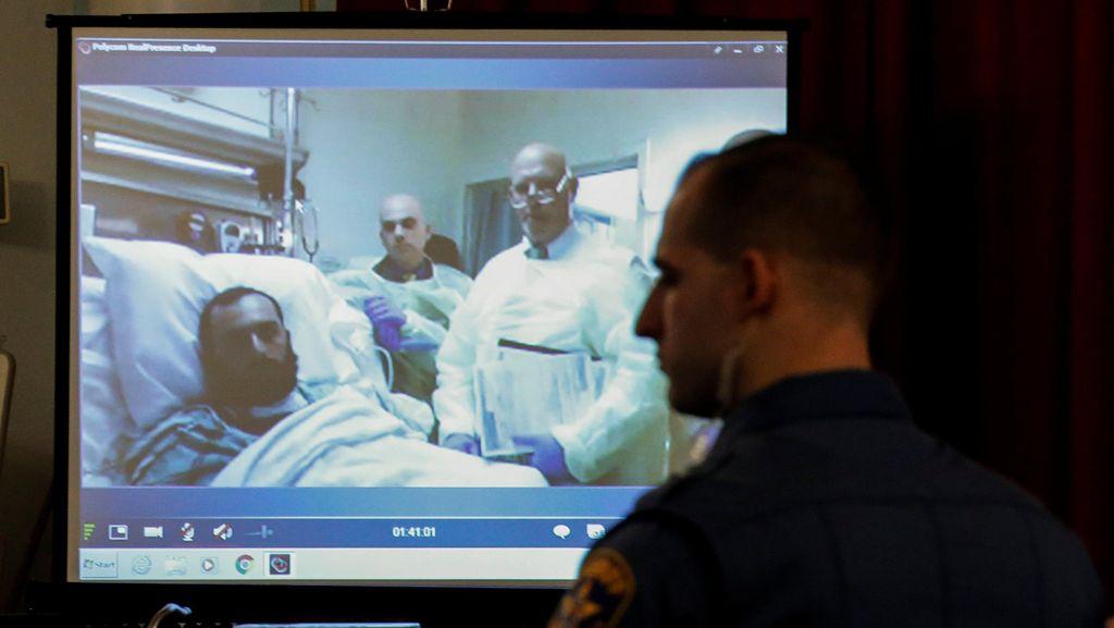 Dari Ranjang Rumah Sakit, Tersangka Bom New York Mengaku Tak Bersalah