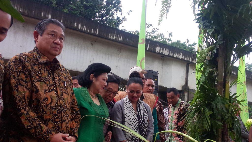 SBY, Ibu Ani dan Sylviana Murni Hadiri Penutupan Gebyar Museum di TMII