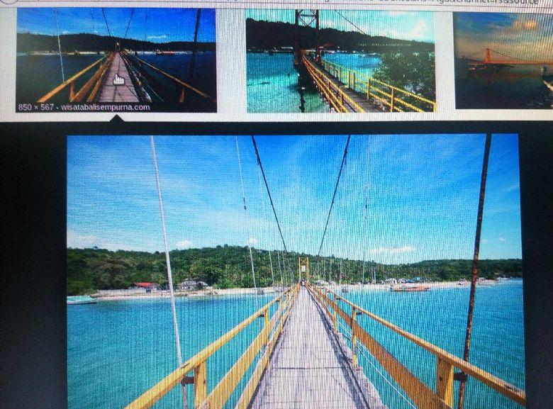 Foto-foto Ambruknya Jembatan Kuning Di Bali Yang Tewaskan 8 Orang