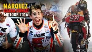 Marc Marquez Juara Dunia MotoGP 2016