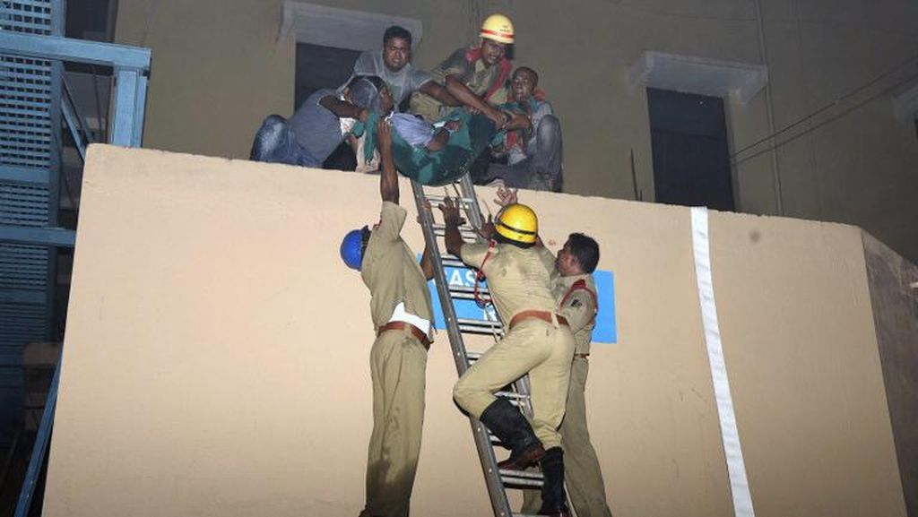 Pemilik Rumah Sakit India Ditahan Atas Kebakaran yang Tewaskan 21 Pasien