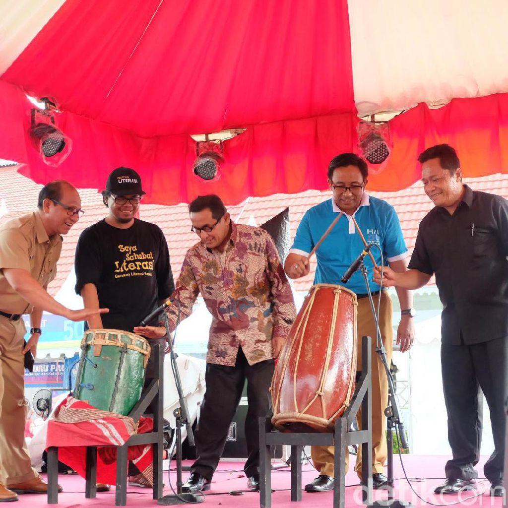 Festival Literasi Indonesia Diresmikan Gubernur Sulawesi Tengah