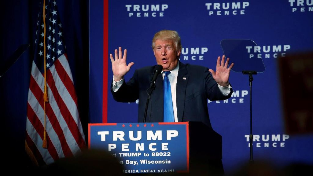 Soal Hasil Pilpres AS, Donald Trump Menolak Mengatakan Siap Menerima