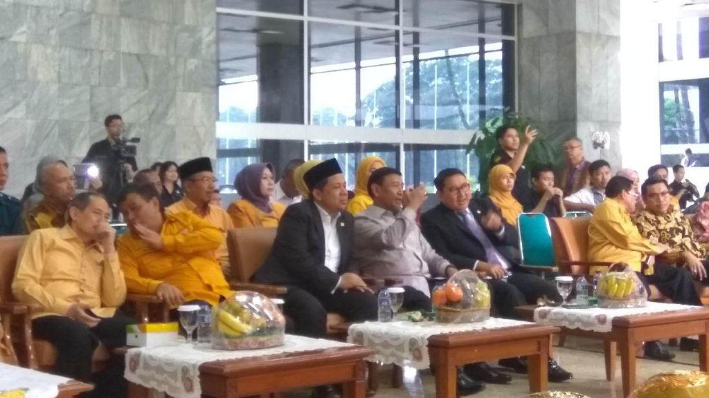 Hadiri Ultah Fraksi Hanura, Wiranto: Saya Beri Nasihat Sebagai Ketum