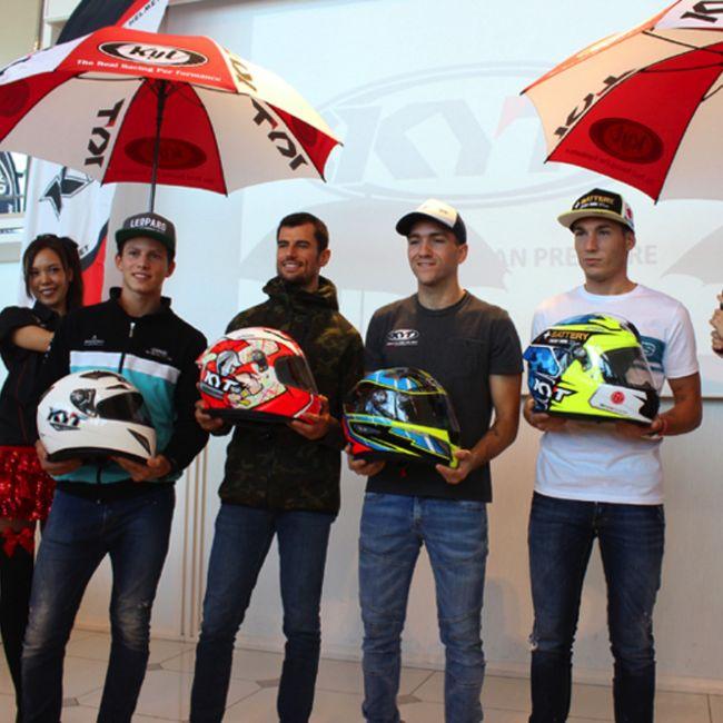 KYT Pastikan Produknya Aman & Dipakai Semua Pembalap Asia
