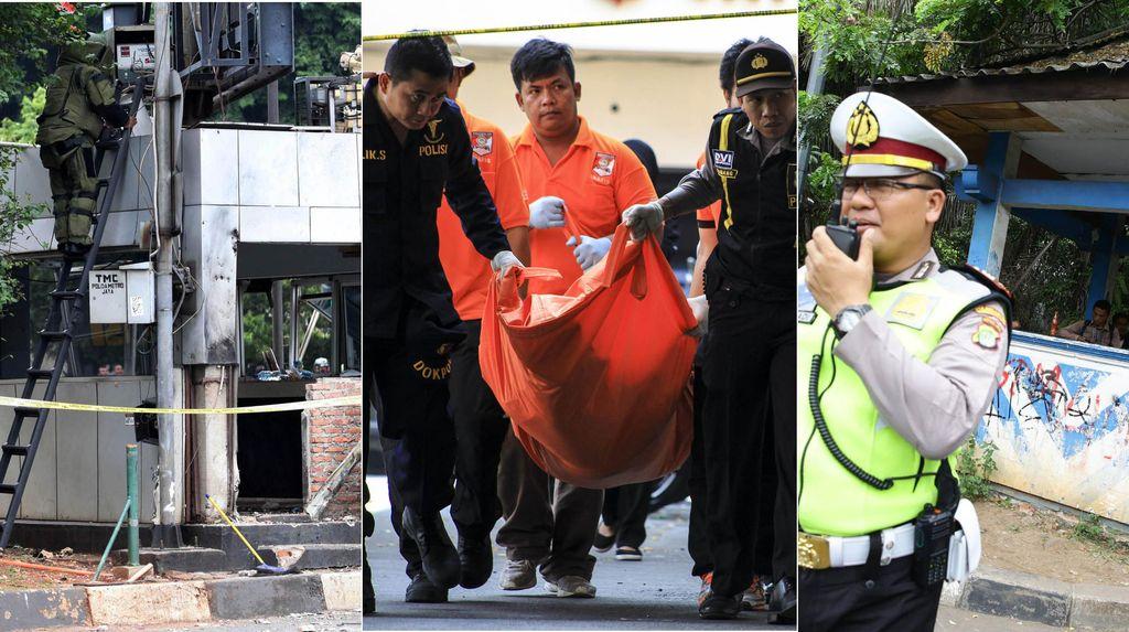 Horor Penyerangan Polisi: Dari Bom Thamrin, Solo hingga Tangerang
