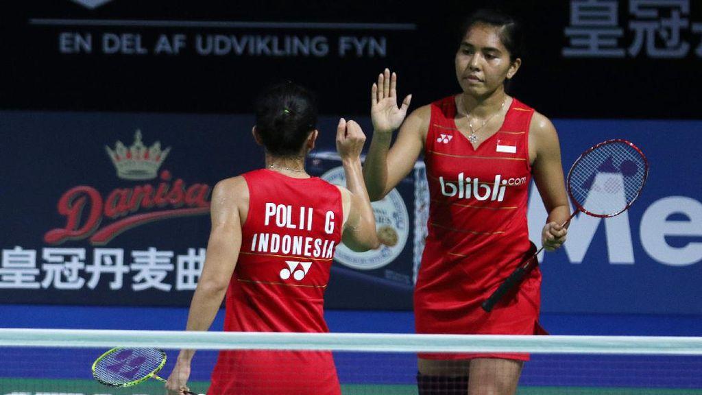 Greysia/Nitya Juga Lolos ke Perempatfinal