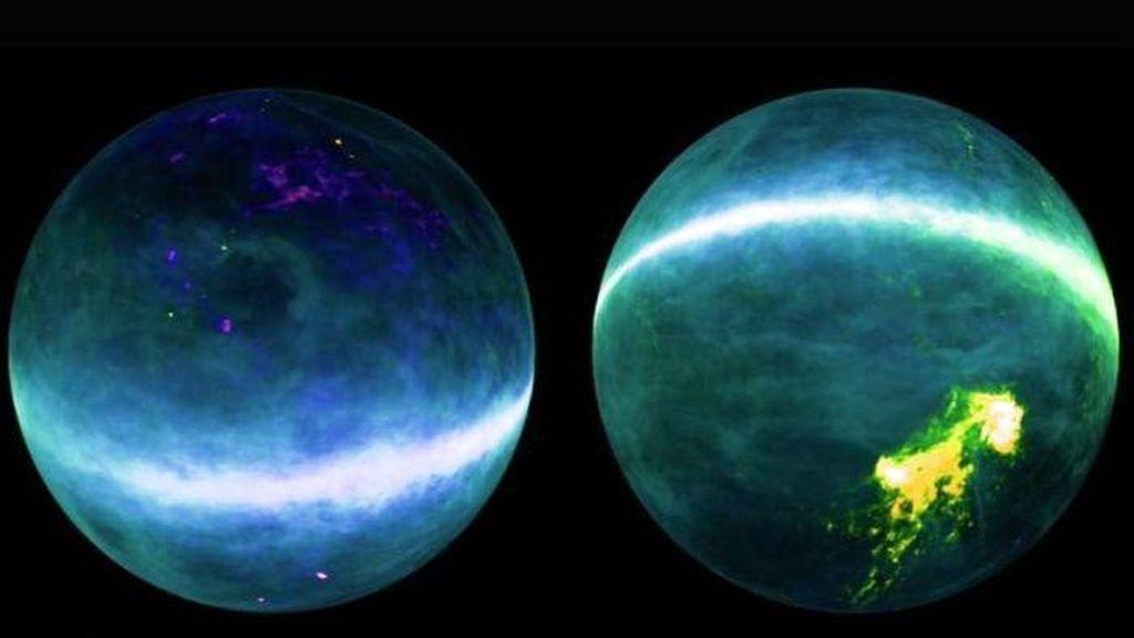 Pemetaan Hidrogen Ungkap Rahasia Galaksi Bimasakti