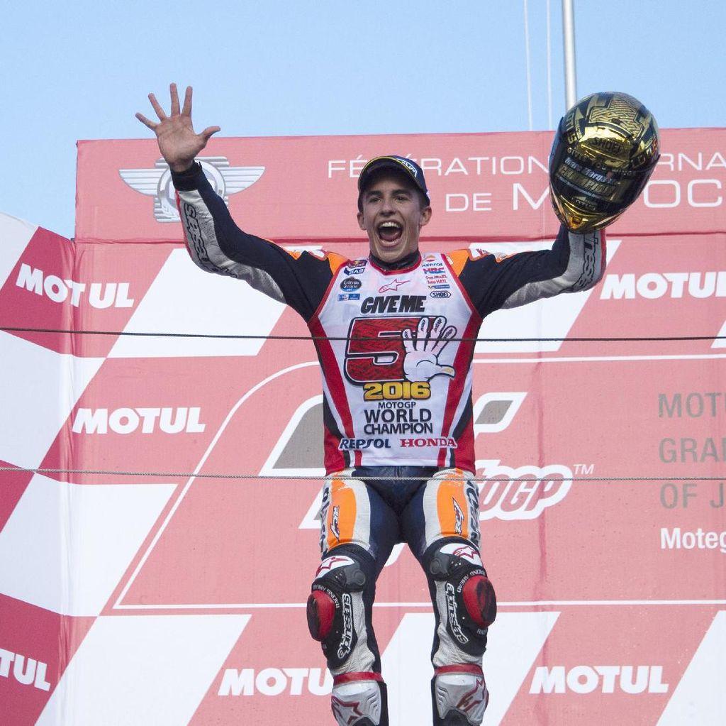 Awal Musim yang Mulus Jadi Kunci Titel Juara Marquez