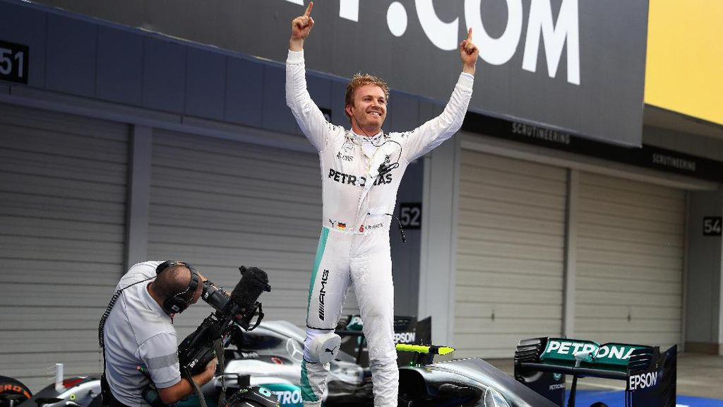 Upaya Rosberg Menghapus Memori Buruk di Austin