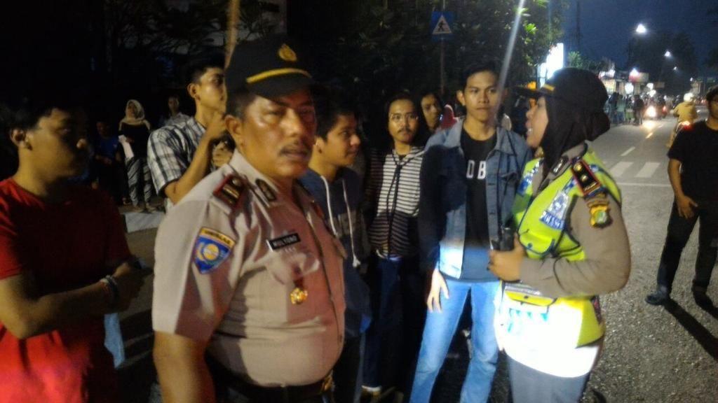 Demo di Depan Kampus IISIP Bubar, Lalin Arah Pasar Minggu Masih Padat