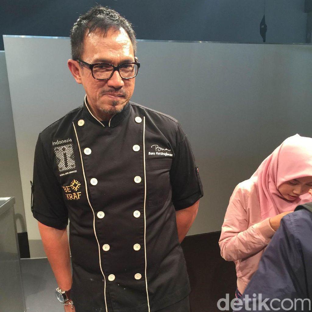 Goyang Lidah Frankfurt Book Fair, Bara Bagi Tips Masakan Lidah Eropa Rasa Indonesia