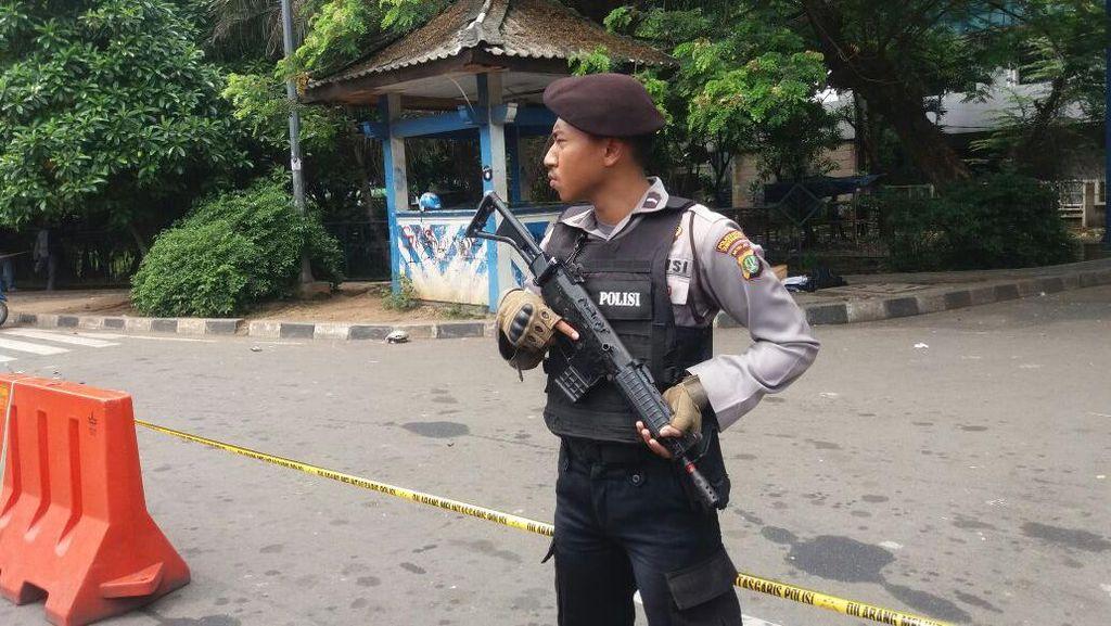 Penyerang Polisi di Tangerang Bawa Bom Lontong