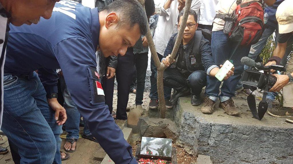 Ziarah ke Makam Si Pitung, Agus Yudhoyono Janji Tak Ada Penindasan di DKI