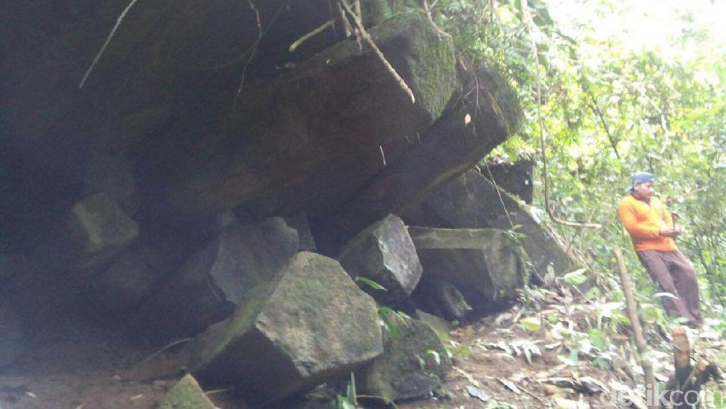Batu-batu Unik ini Diduga Peninggalan Mataram Kuno, Ditemukan di Pekalongan